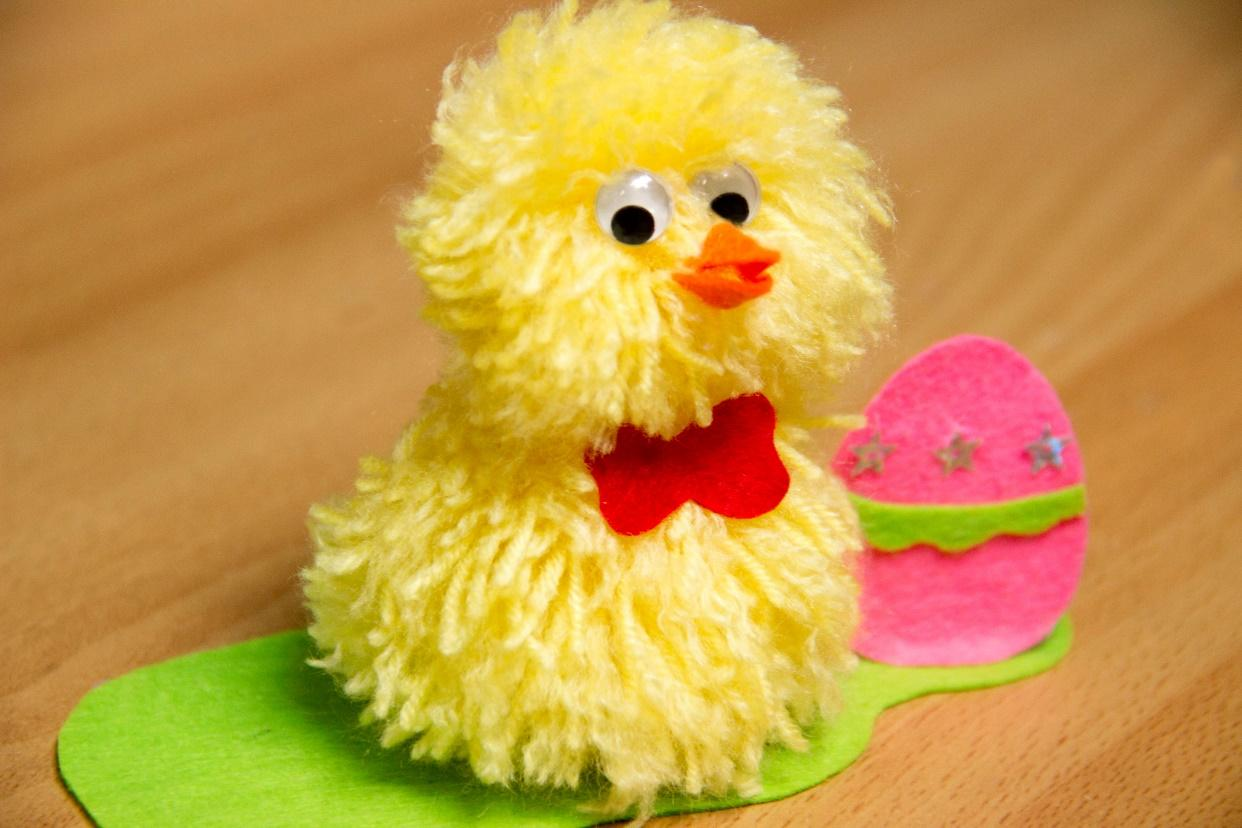 Image result for pompom easter chick